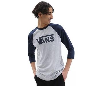 tričko Vans Classic Raglan - Athletic Heather/Dress Blues