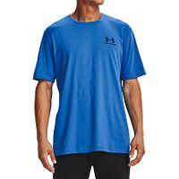 T-shirt Under Armour Sportstyle Left Chest - 787/Brilliant Blue/Black - men´s