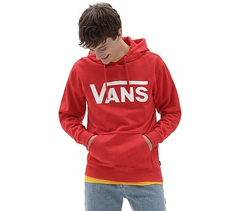 mikina Vans Classic Pullover II - High Risk Red