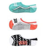 Socken Vans True Soles Canoodles 3 Pack - Multi - women´s