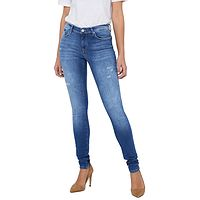 Jeans ONLY Shape Life Reg Skinny BB Rea404 - Light Medium Blue Denim - women´s