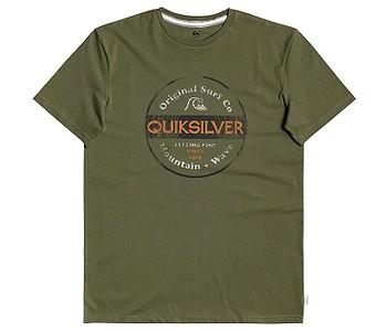 tričko Quiksilver From Days Gone - GPH0/Four Leaf Clover