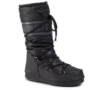 boty Tecnica Moon Boot High Nylon - Black