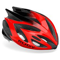 kask Rudy Project Rush - Red/Black Shiny