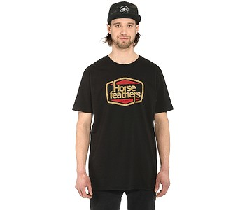 tričko Horsefeathers Cornick - Black