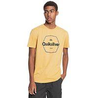 camiseta Quiksilver Hard Wired - YHP0/Rattan - men´s