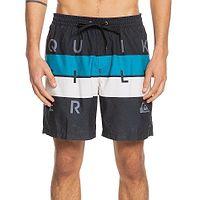 swimming shorts Quiksilver Word Block Volley 17 - KVJ6/Black - men´s