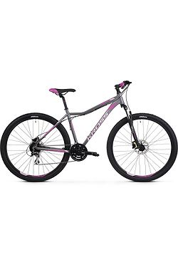 "bicycle Kross Lea 5.0 29"" - Graphite/Pink/Violet Matte - women´s"