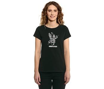 tričko Horsefeathers War Paint - Black