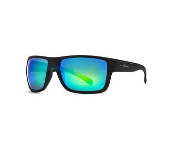brýle Horsefeathers Zenith - Matt Black/Mirror Green