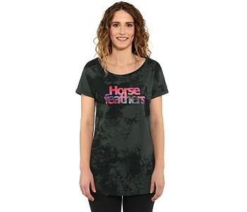tričko Horsefeathers Chelsea - Gray Tie Dye