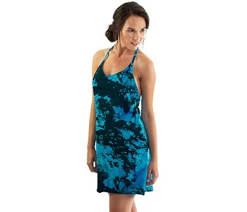 šaty Horsefeathers Viola - Blue Tie Dye