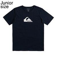 camiseta Quiksilver Comp Logo - BYJ0/Navy Blazer - boy´s
