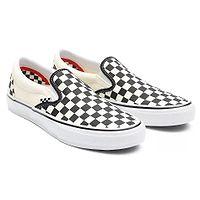 sapatos Vans Skate Slip-On - Checkerboard/Black/Off White - men´s