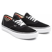 zapatos Vans Skate Authentic - Black/White - men´s