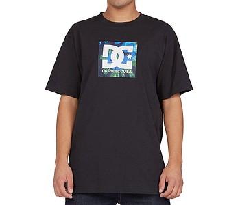 tričko DC Square Star Fill Hss - KVJ0/Black