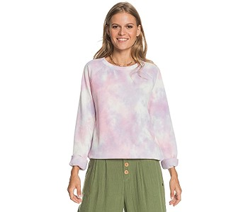 mikina Roxy Dive Deep Crew - PFJ8/Orchid Petal No Flowers Fly T