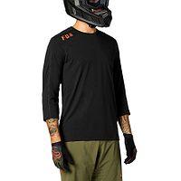vestido desportivo Fox Ranger Drirelease 3/4 Jersey - Black - men´s