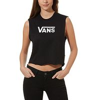 camisa Vans Flying V Classic Muscle - Black - women´s