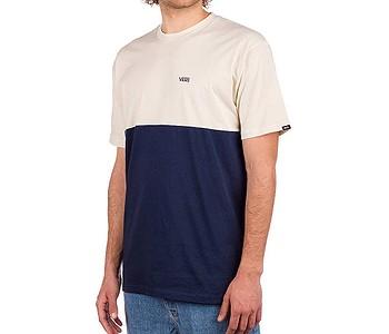 tričko Vans Colorblock - Dress Blues/Seed Pearl