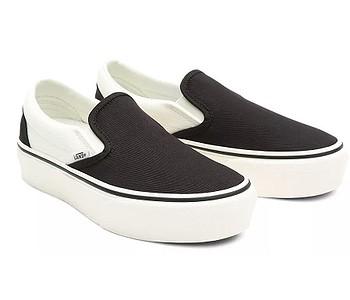 boty Vans Slip-On Platform SF - Surf Supply/Karina/Black