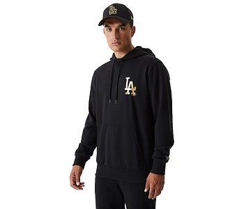 mikina New Era Metalic MLB Los Angeles Dodgers - Black