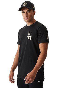 T-Shirt New Era Metalic MLB Los Angeles Dodgers - Black - men´s
