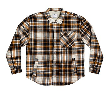 bunda DC Over The Top Flannel - NNW0/Sudan Brown