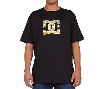 tričko DC DC X Burger Fill - KVJ0/Black