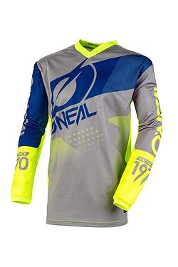 dres O'Neal Element Factor LS - Gray/Yellow