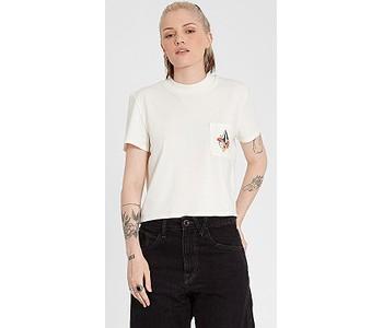 tričko Volcom Pocket Dial - Star White