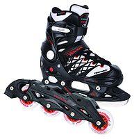 patins de rodas Tempish Clips Duo - Black/White - unisex junior