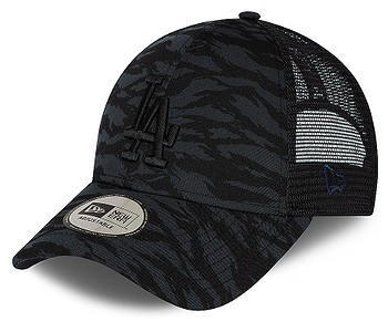 kšiltovka New Era 9FO Tiger Print Trucker MLB Los Angeles Dodgers - Navy