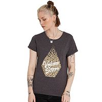 T-Shirt Volcom Radical Daze - Charcoal - women´s