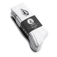 Socken Volcom Full Stone 3 Pack - White - men´s