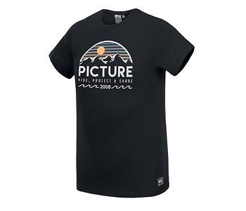 tričko Picture Yukon - Black