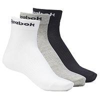 Socken Reebok Performance Active Core Ankle 3 Pack - Medium Grey Heather/White/Black