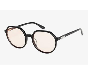 brýle Roxy Hollywell - XKKM/Shiny Black/Pink
