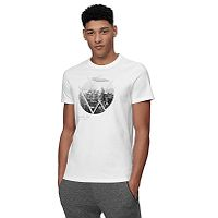 T-Shirt 4F H4L21-TSM023 - 10S/White - men´s