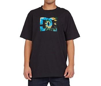 tričko DC Star Tie Dye Fill Hss - KVJ0/Black