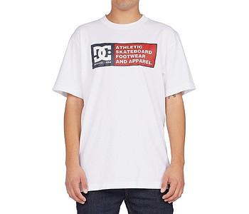 tričko DC Density Zone Hss - WBB0/White