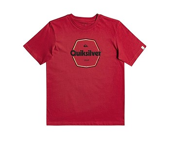 tričko Quiksilver Hard Wired - RPY0/American Red