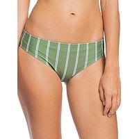 Badeanzug Roxy PT Roxy Body Reg Bottom - GNT4/Vineyard Green Will Stripes - women´s