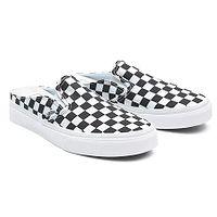 Schuhe Vans Classic Slip-On Mule - Checkerboard/Black/True White