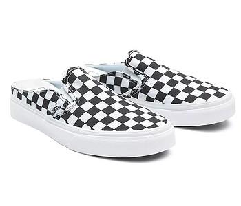 boty Vans Classic Slip-On Mule - Checkerboard/Black/True White