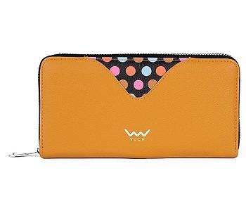 peněženka Vuch Ronja - Yellow/Dots