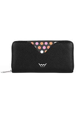 peněženka Vuch Chappy - Black/Dots