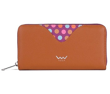 peněženka Vuch Leslie - Brown/Dots