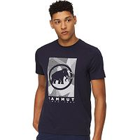 T-Shirt Mammut Trovat - Marine/PRT2 - men´s