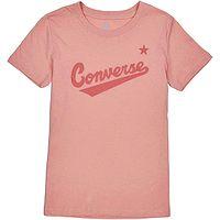 T-shirt Converse Nova Center Front Logo/10018268 - A29/Pink Quartz - women´s